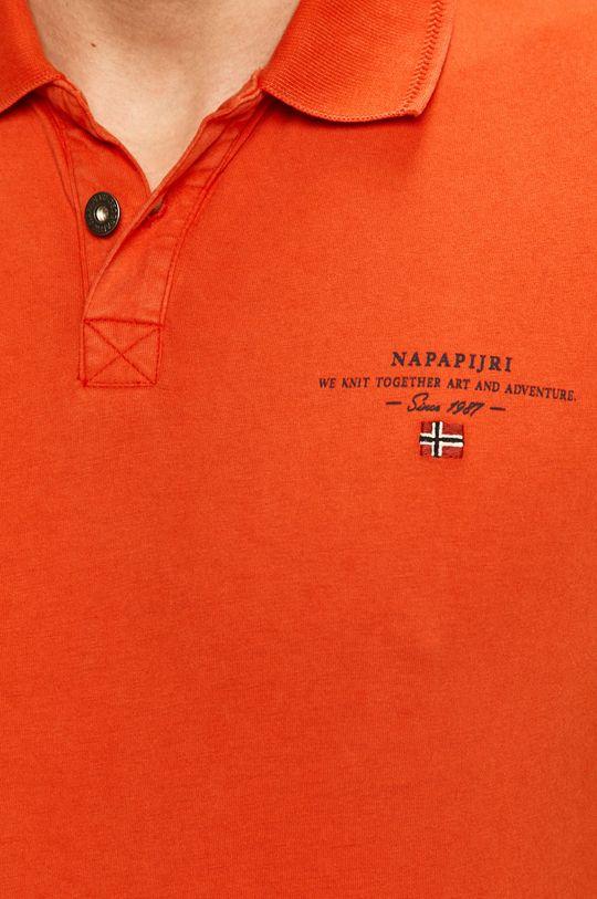 Napapijri - Тениска с яка Чоловічий