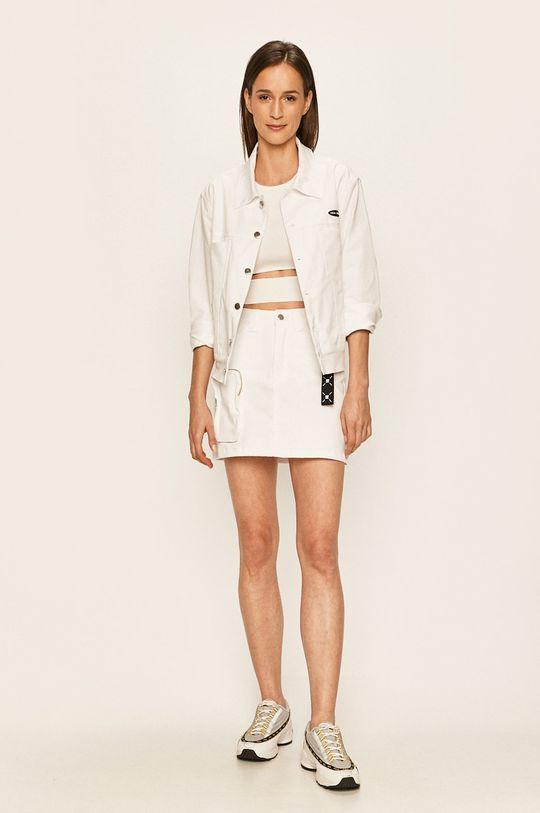 Local Heroes - Džínová sukně bílá