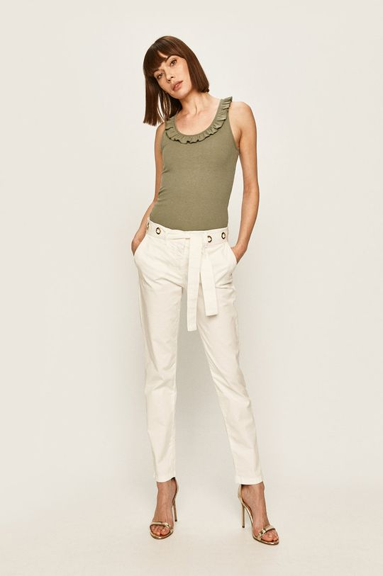 Trussardi Jeans - Pantaloni alb