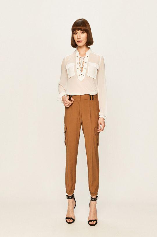 Silvian Heach - Spodnie brązowy