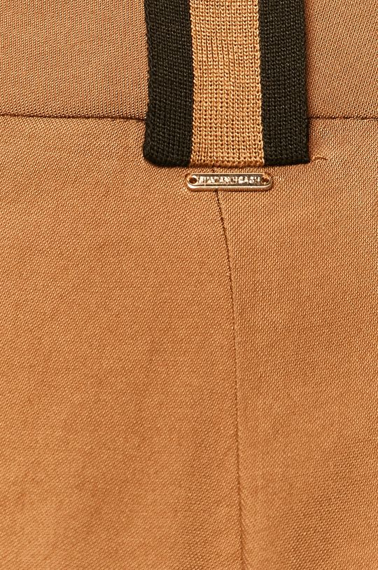 brązowy Silvian Heach - Spodnie