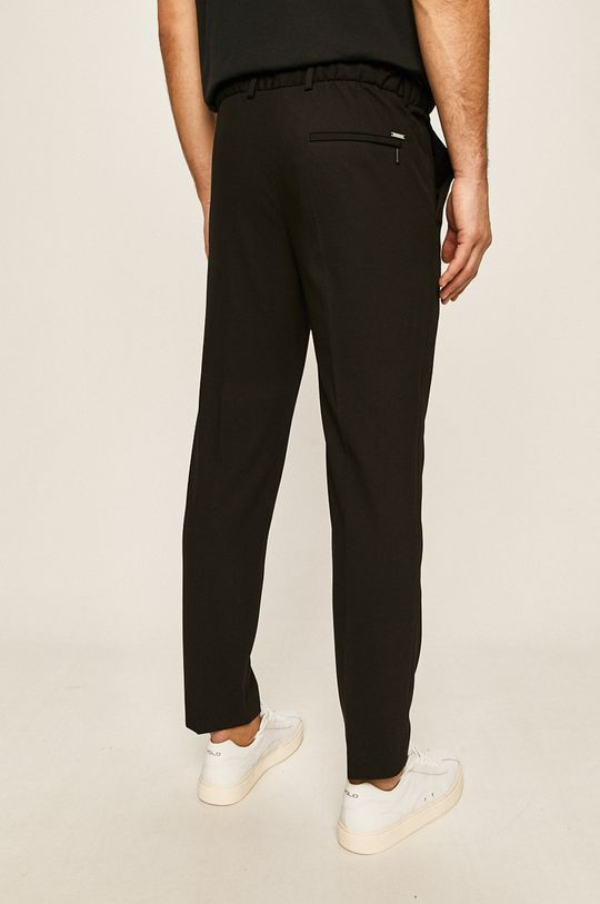 Calvin Klein - Spodnie 9 % Elastan, 67 % Poliester, 24 % Wiskoza