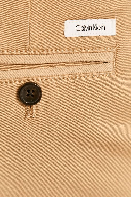 bej Calvin Klein - Pantaloni