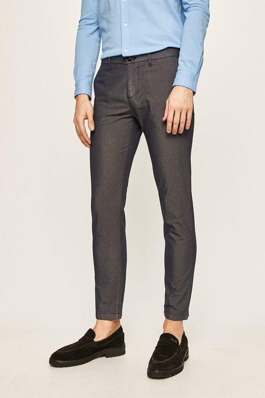 granatowy Trussardi Jeans - Spodnie Męski