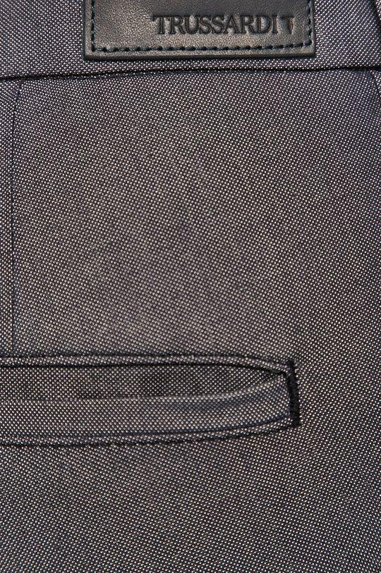 granatowy Trussardi Jeans - Spodnie
