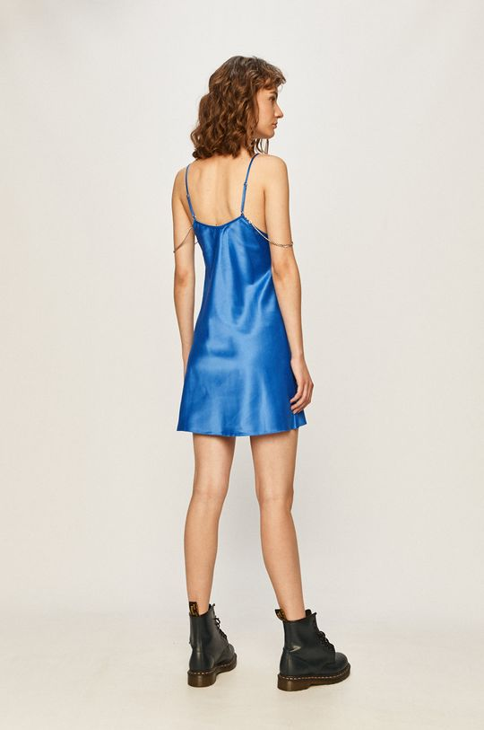 Local Heroes - Rochie Blue Satin 100% Poliester