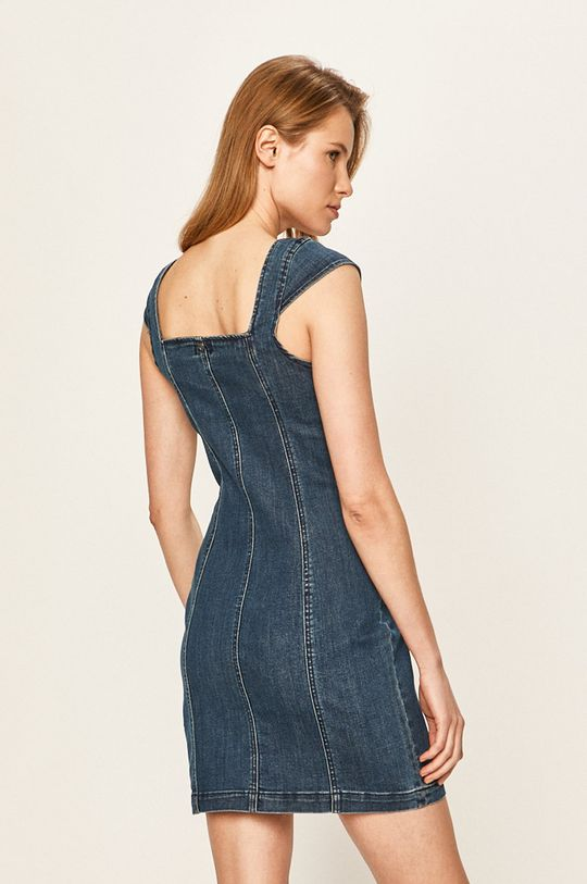 Volcom - Rifľové šaty  92% Bavlna, 2% Elastan, 6% Recyklovaný polyester