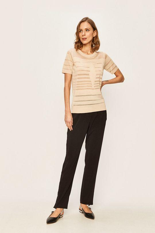 Trussardi Jeans - Tričko krémová