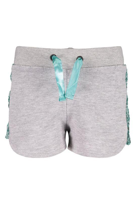 sivá Blue Seven - Detské krátke nohavice 92-128 cm Dievčenský