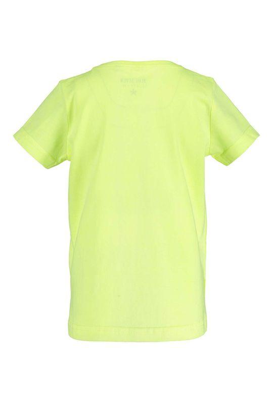 Blue Seven - Detské tričko 92-128 cm žlto-zelená
