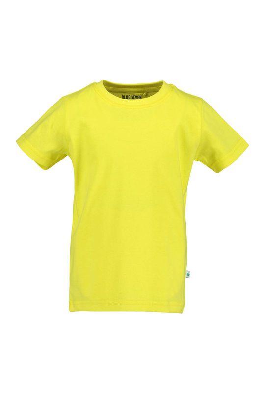 žltá Blue Seven - Tričko 92-128 cm Chlapčenský