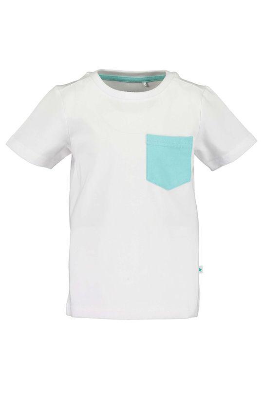 alb Blue Seven - Tricou copii 92-128 cm De băieți