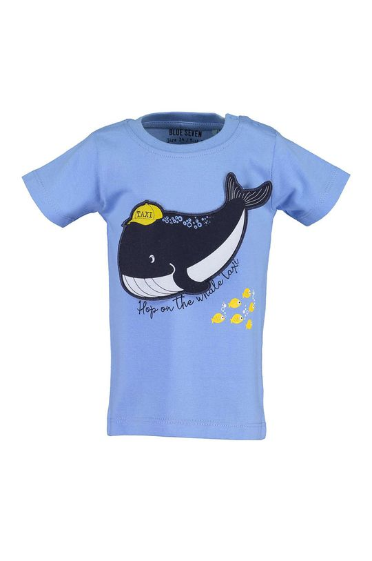 svetlomodrá Blue Seven - Detské tričko 68-86 cm Chlapčenský