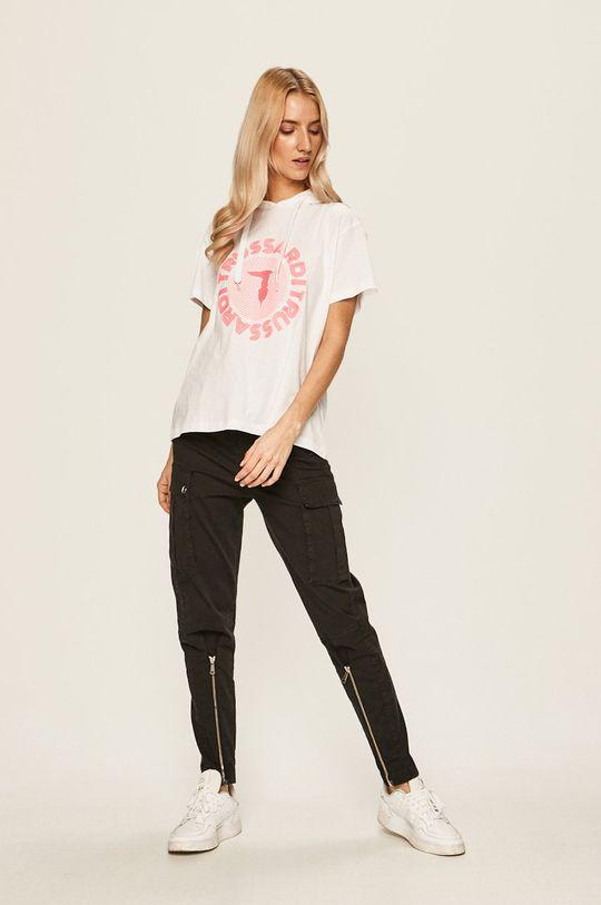 Trussardi Jeans - T-shirt biały