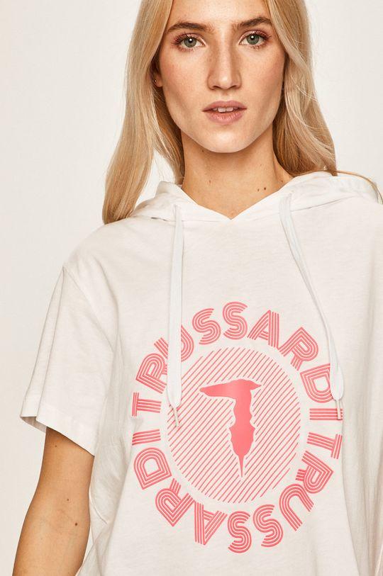 biały Trussardi Jeans - T-shirt