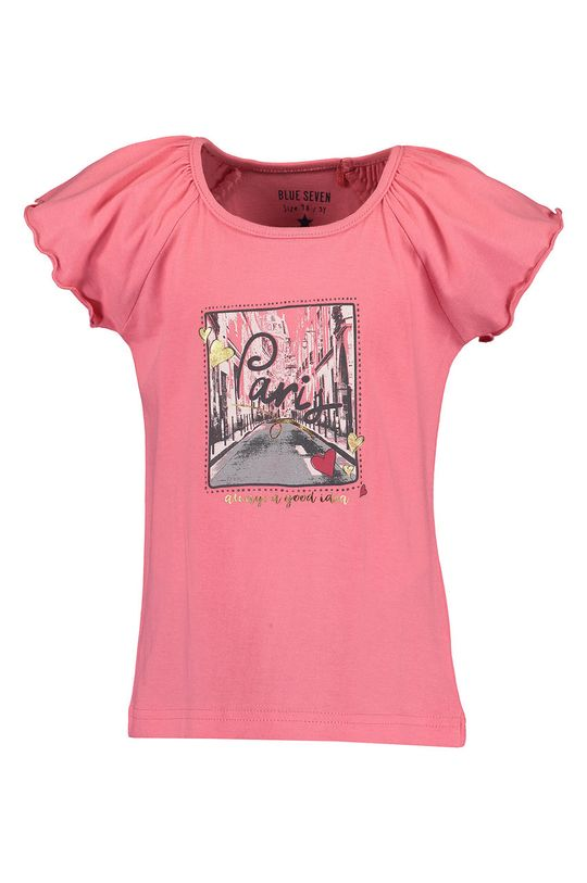 rosu Blue Seven - Tricou copii 92-128 cm De fete