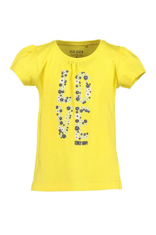 žltá Blue Seven - Detské tričko 92-128 cm Dievčenský