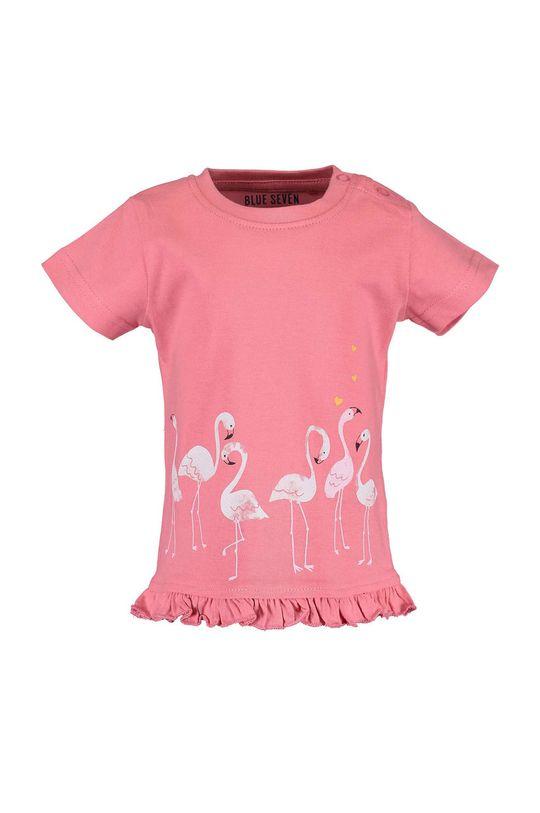 sýto ružová Blue Seven - Detské tričko 68-86 cm Dievčenský