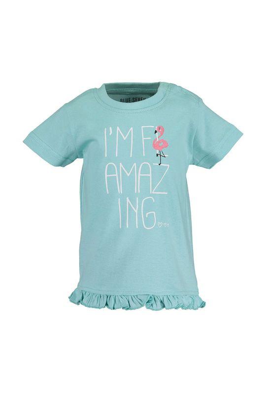 svetlomodrá Blue Seven - Detské tričko 68-86 cm Dievčenský