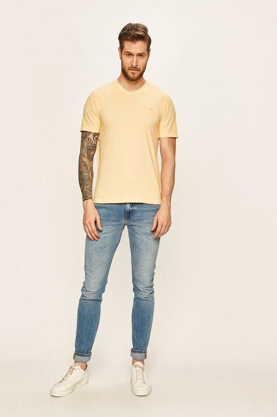 Calvin Klein - Tričko žlutá