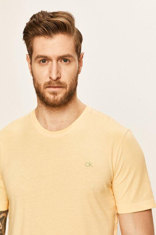 žlutá Calvin Klein - Tričko