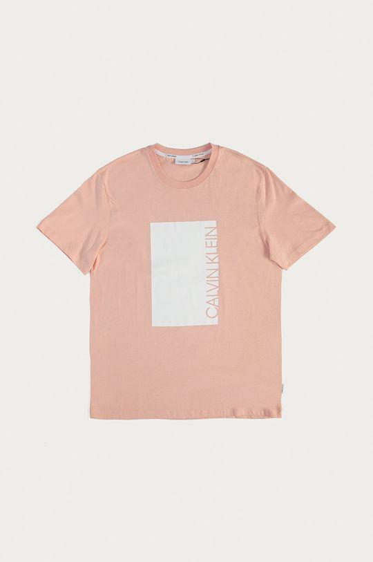 ružová Calvin Klein - Tričko Pánsky