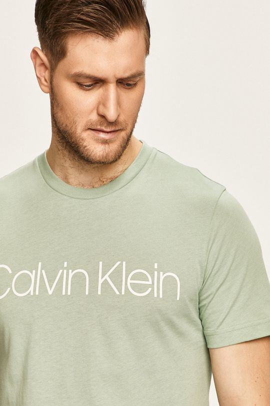 světle zelená Calvin Klein - Tričko