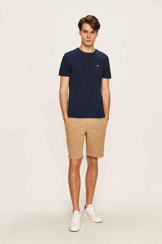 Napapijri - Pánske tričko tmavomodrá