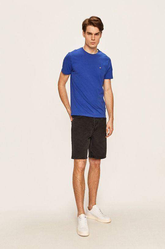 Napapijri - Pánske tričko modrá