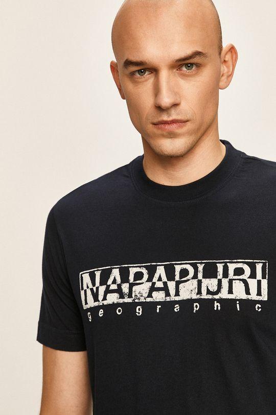 тъмносин Napapijri - Тениска