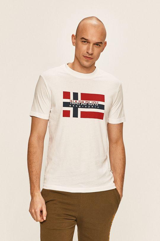 Napapijri - Тениска бял