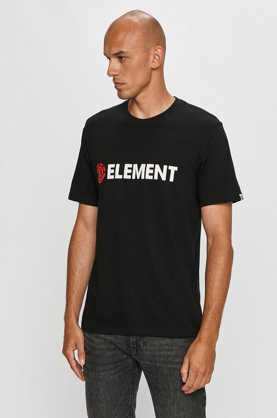 černá Element - Tričko Pánský