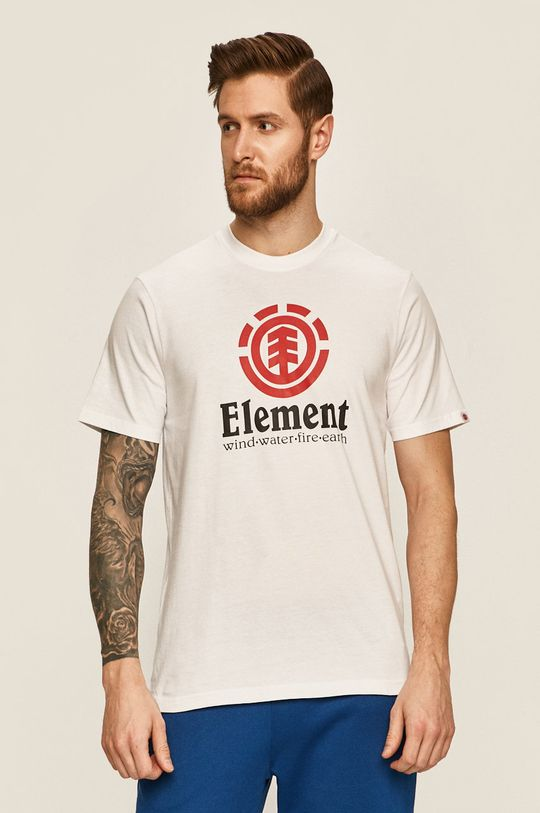 bílá Element - Tričko Pánský