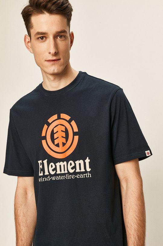 tmavomodrá Element - Tričko Pánsky