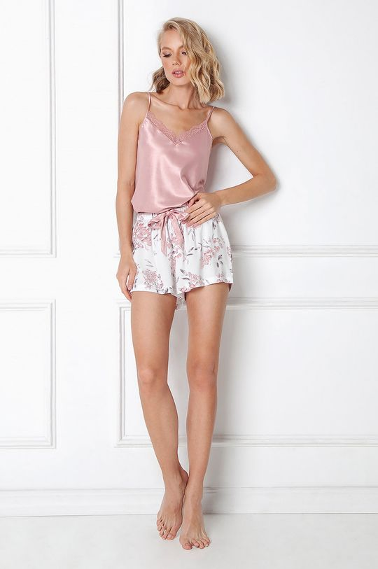 różowy Aruelle - Piżama Demi Damski