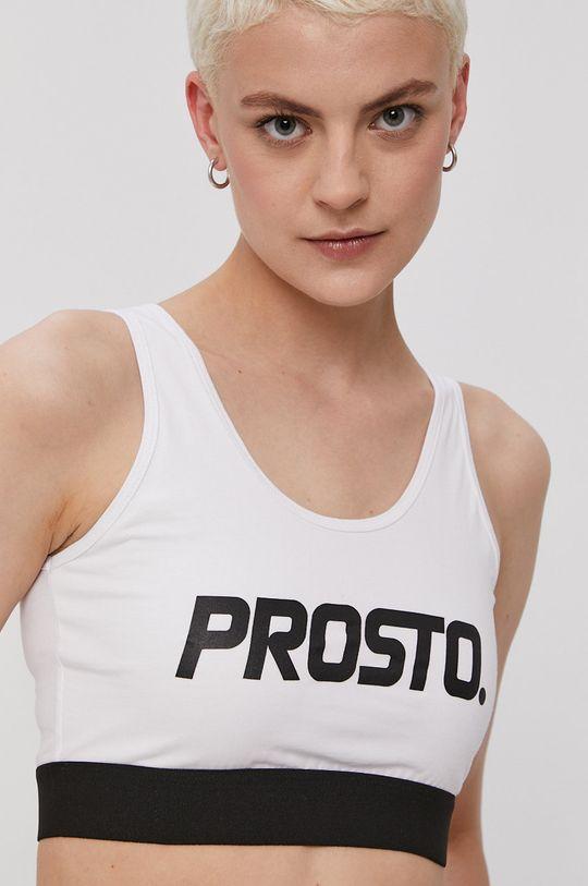 biały Prosto - Biustonosz sportowy Damski