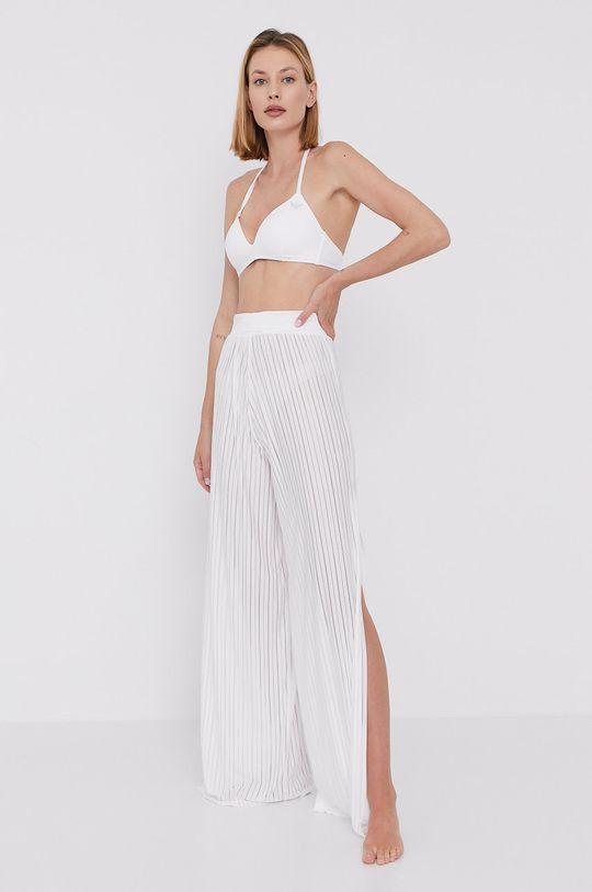 biały LaBellaMafia - Spodnie plażowe Damski