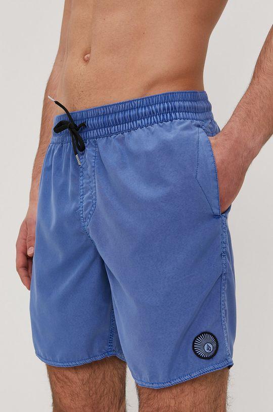 modrá Volcom - Plavkové šortky Pánský