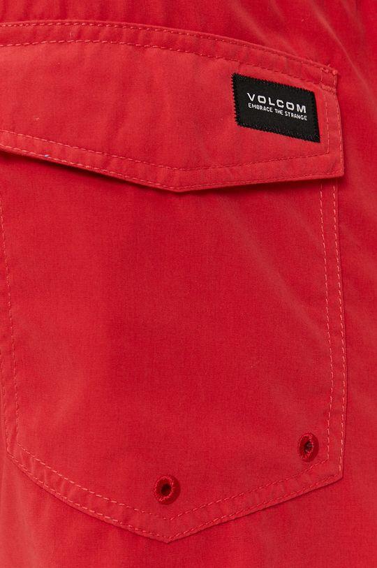 karmínová Volcom - Plavkové šortky