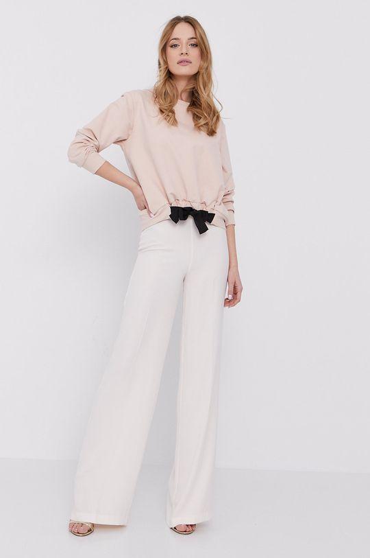 Silvian Heach - Bluza bawełniana różowy