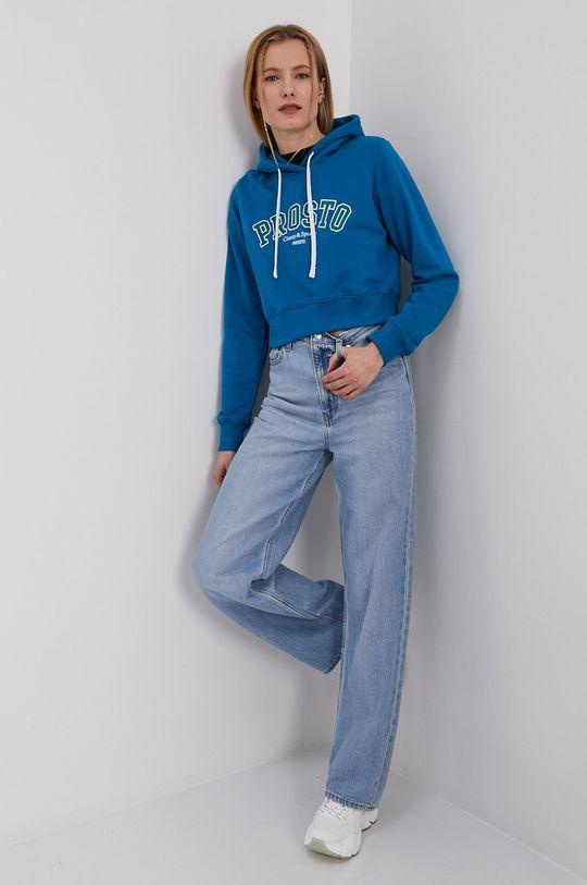 Prosto - Bluza turkusowy