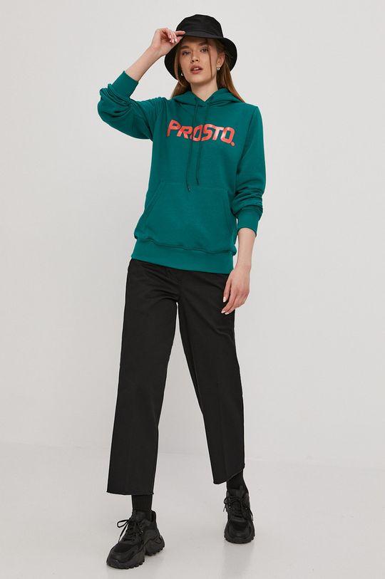 Prosto - Bluza ciemny zielony