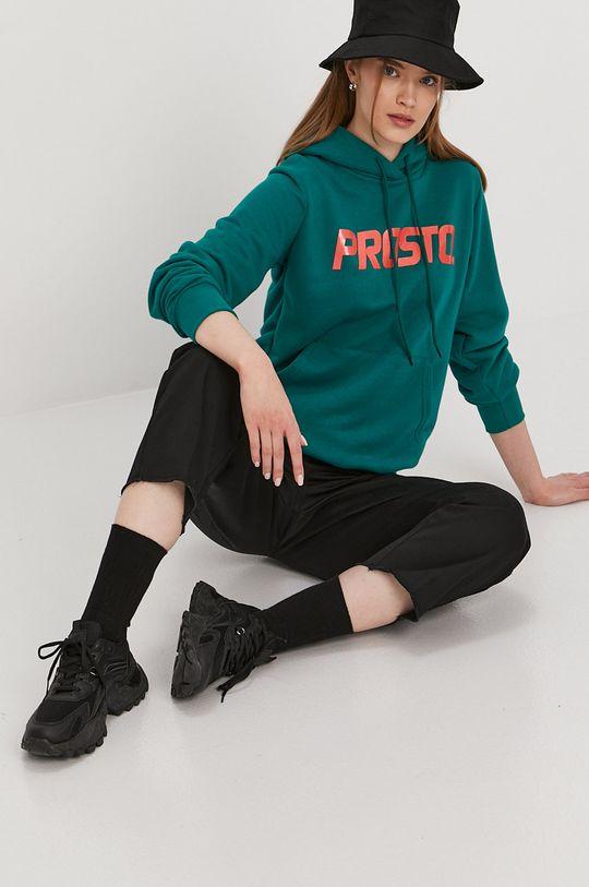 ciemny zielony Prosto - Bluza