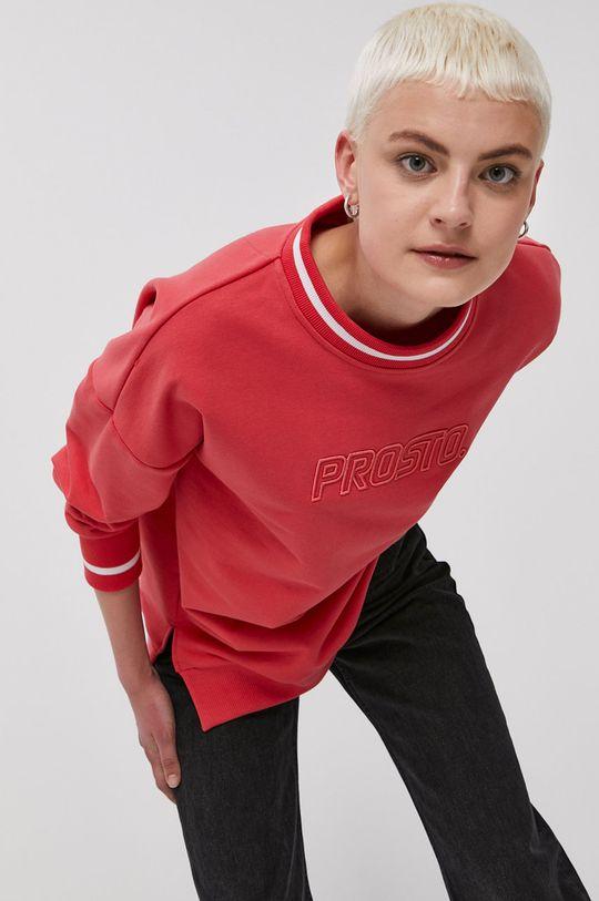 czerwony Prosto - Bluza Damski