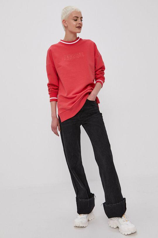 Prosto - Bluza czerwony