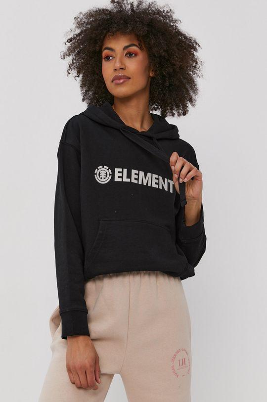 negru Element - Hanorac de bumbac