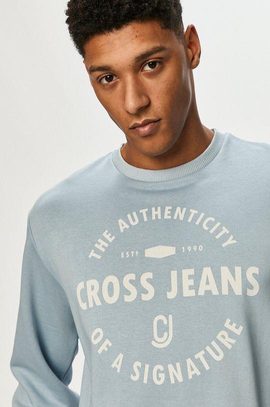 niebieski Cross Jeans - Bluza