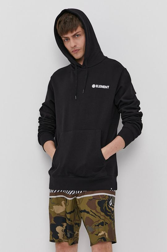 Element - Bluza bawełniana czarny