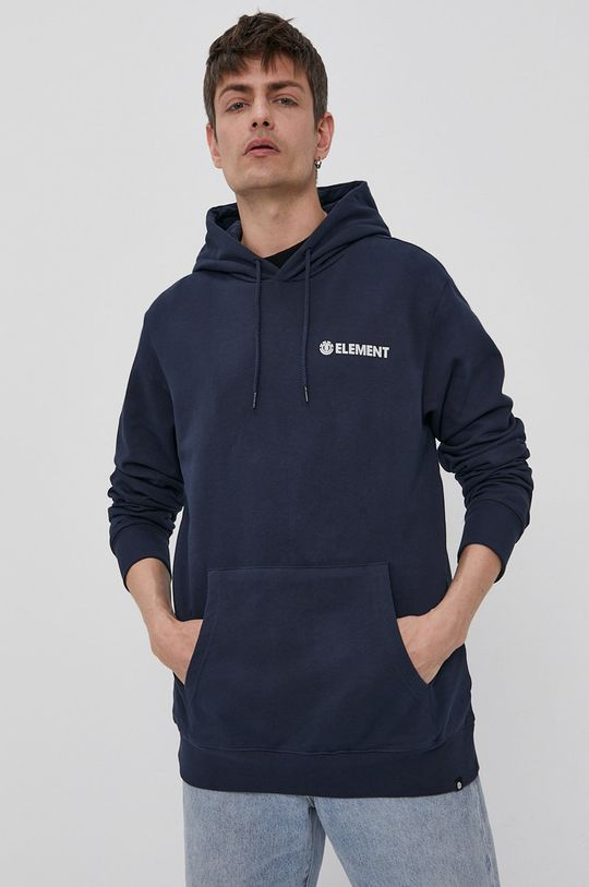 Element - Bluza bawełniana granatowy