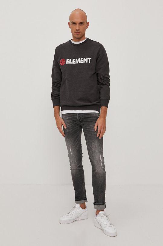 Element - Bavlnená mikina grafitová
